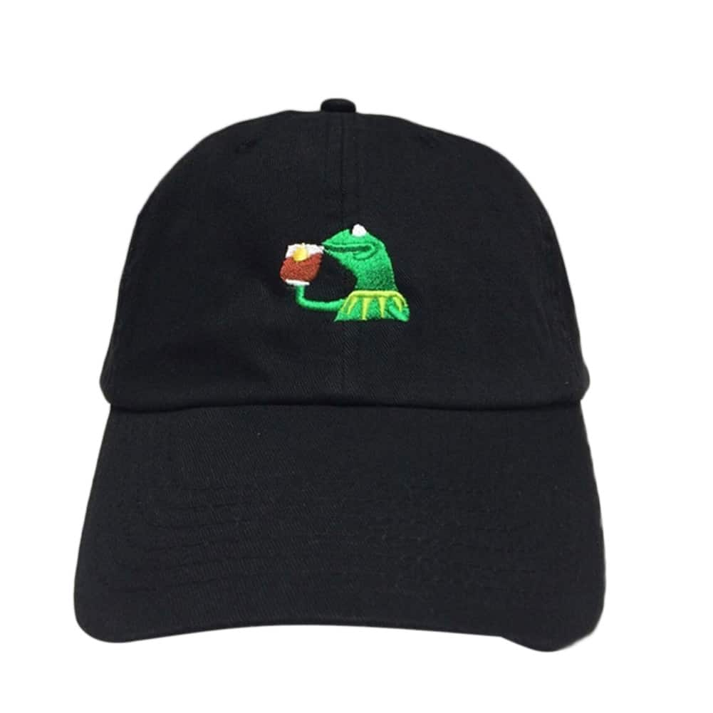 02002fe8986c6 Pepe The Frog Dad Hat