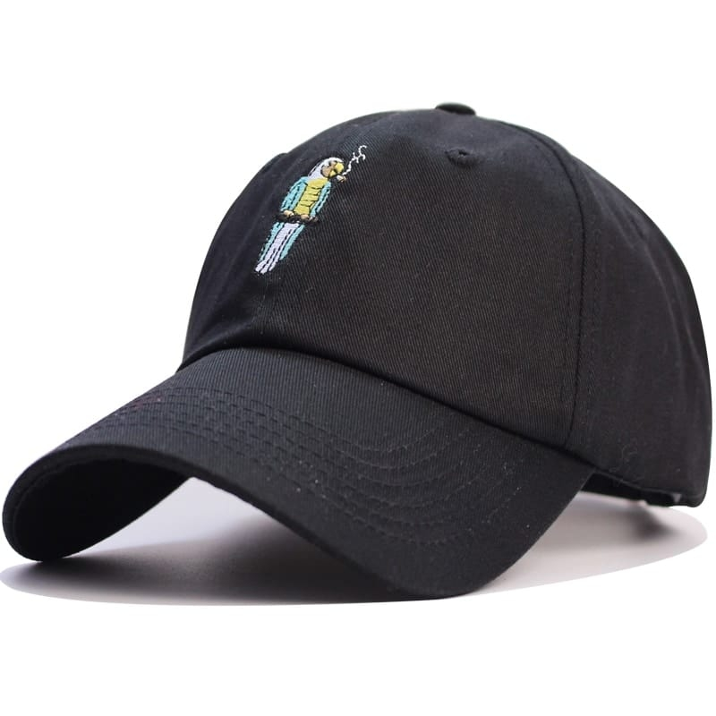 Baked Smoking Parrot Hat (3 Colors)