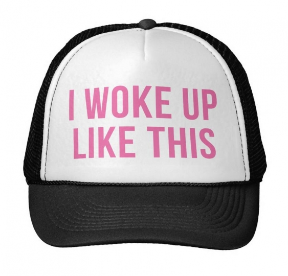I Woke Up Like This Dad Hat